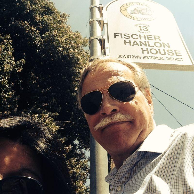 CHL #880 - Fischer-Hanlon House Street Sign