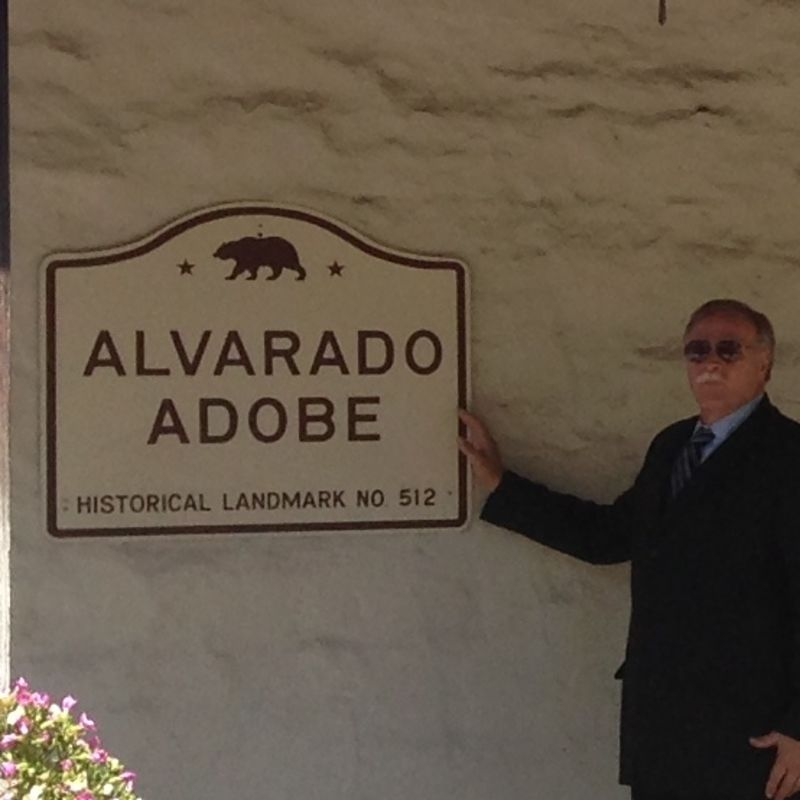 CHL #512 - Alvarado Adobe State Sign