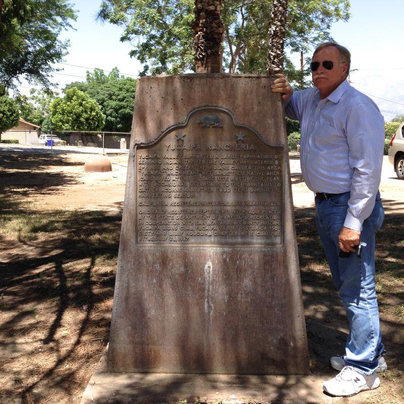CHL #620 - Yucaipa Rancheria State Plaque
