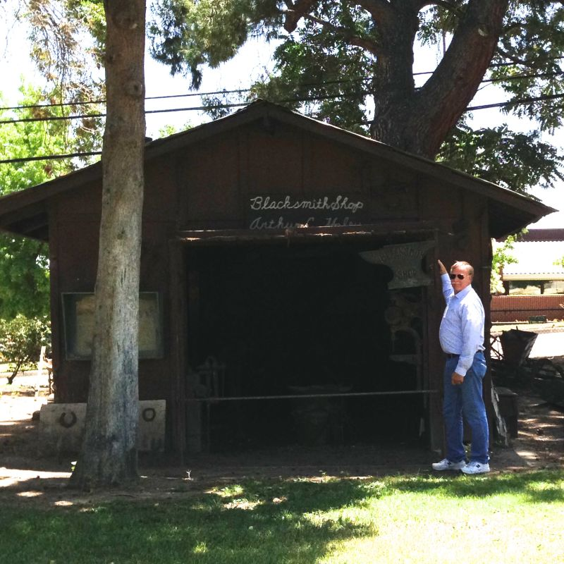 CHL #620 - Yucaipa Rancheria Blacksmith Shop