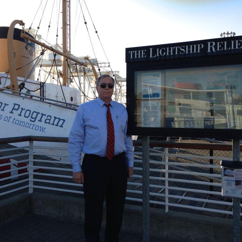 CHL #1036 Coast Guard Lightship WLV 605 - Relief