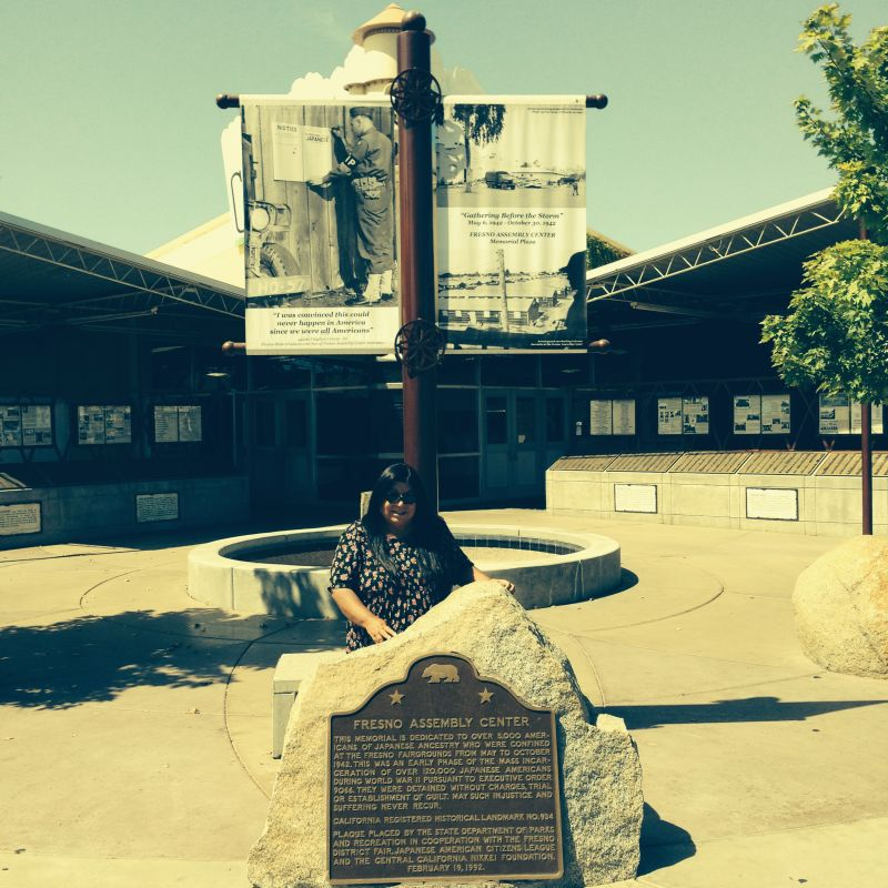CHL #934 Temporary Japanese American Detention Camp/Assembly Center -Fresno