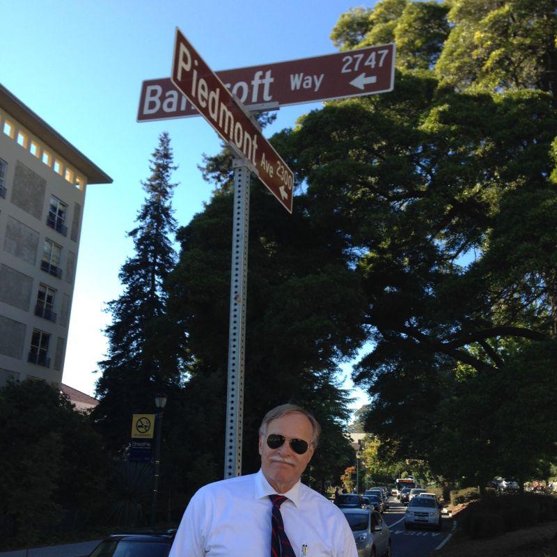 CHL #986  Piedmont Way at Piedmont Avenue and Bancroft Way in Berkeley