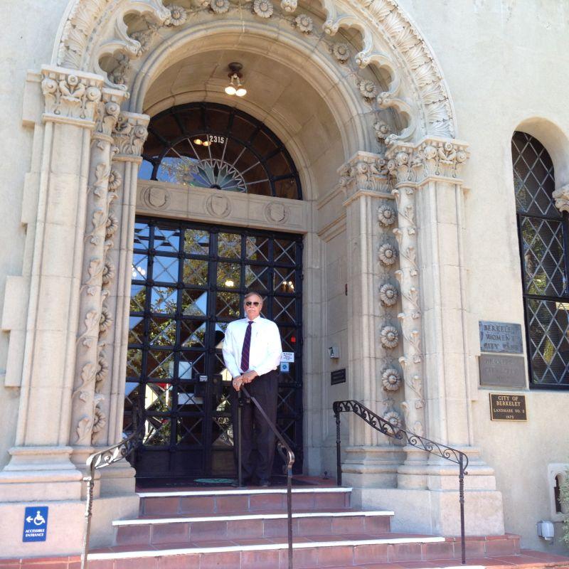 CHL #908 Berkeley City Club, Fron Door