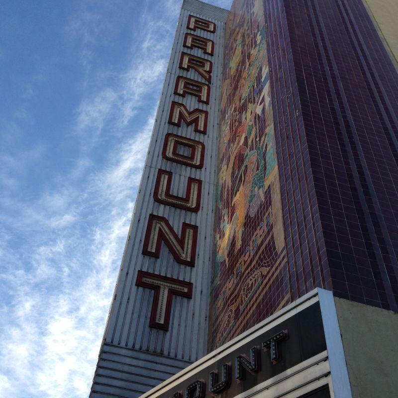 CHL #884 Paramount Theatre Sign
