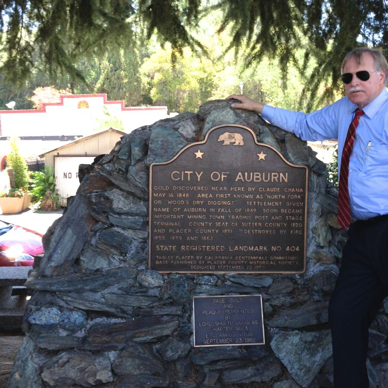 CHL #404 - Auburn, Marker