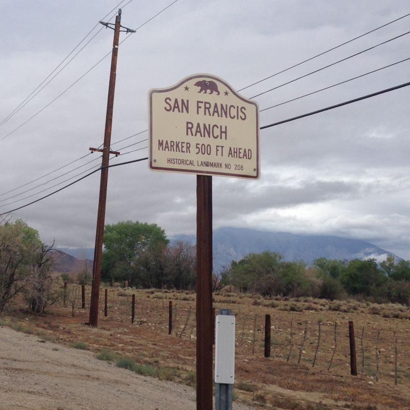 CHL #208  San Francis Ranch