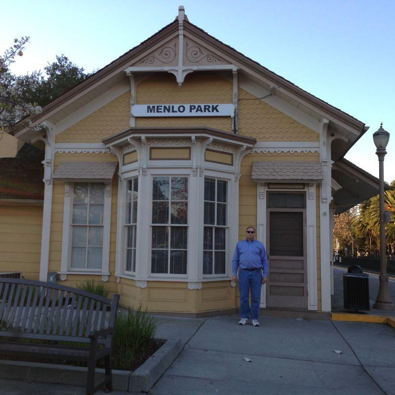 CHL #955  Southern Pacific Depot: Menlo Park