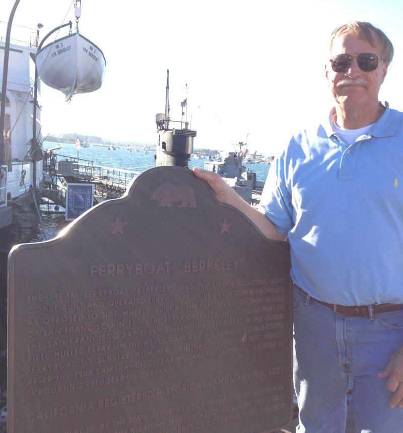 CHL #1031  Ferryboat Berkeley State Plaque