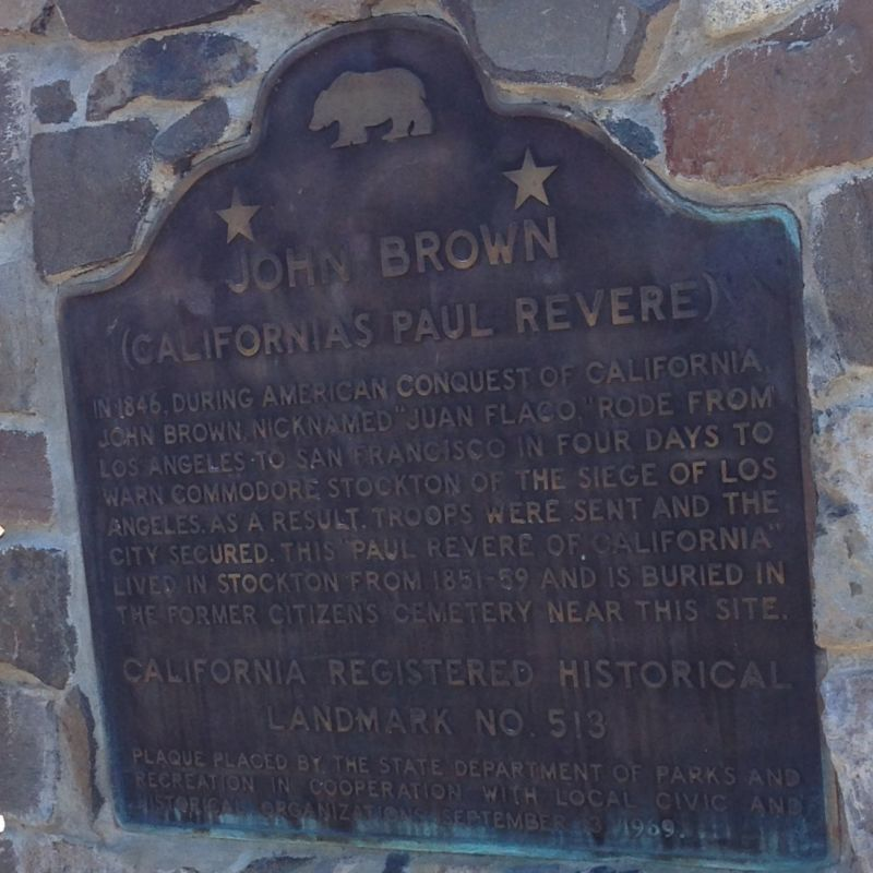 CHL #513  Flaco Burial Place State Plaque