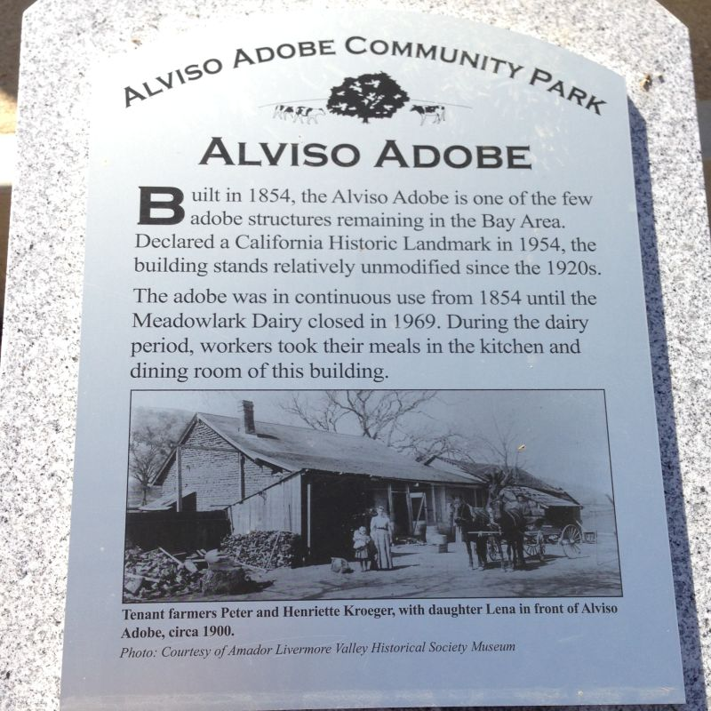 CHL #510  Francisco Solano Alviso Adobe Private Plaque