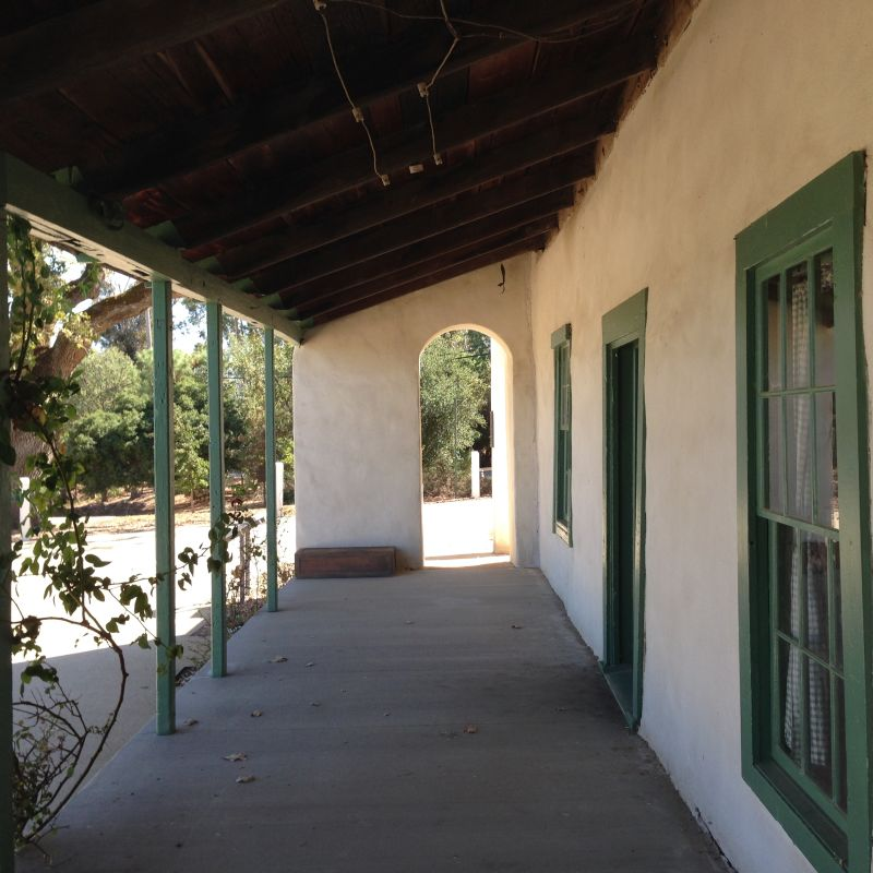 CHL #510 Francisco Solano Alviso Adobe Patio