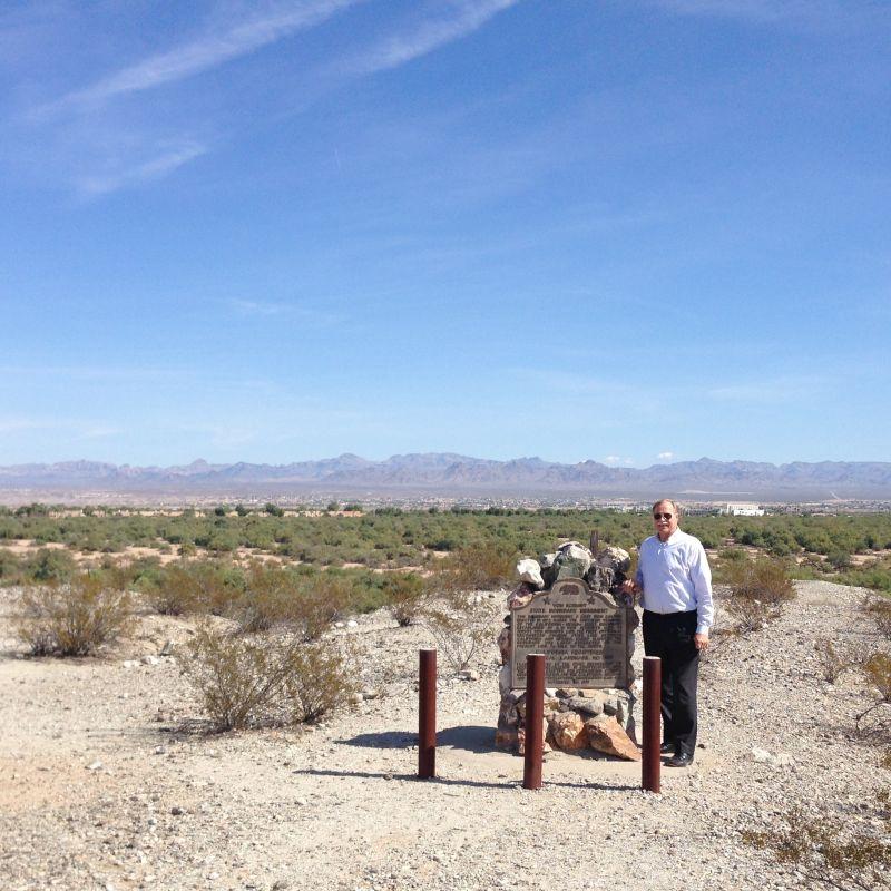 CHL #859  Von Schmidt State Boundary Monument Marker