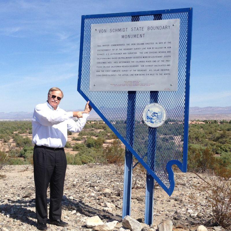 CHL #859  Von Schmidt State Boundary Monument