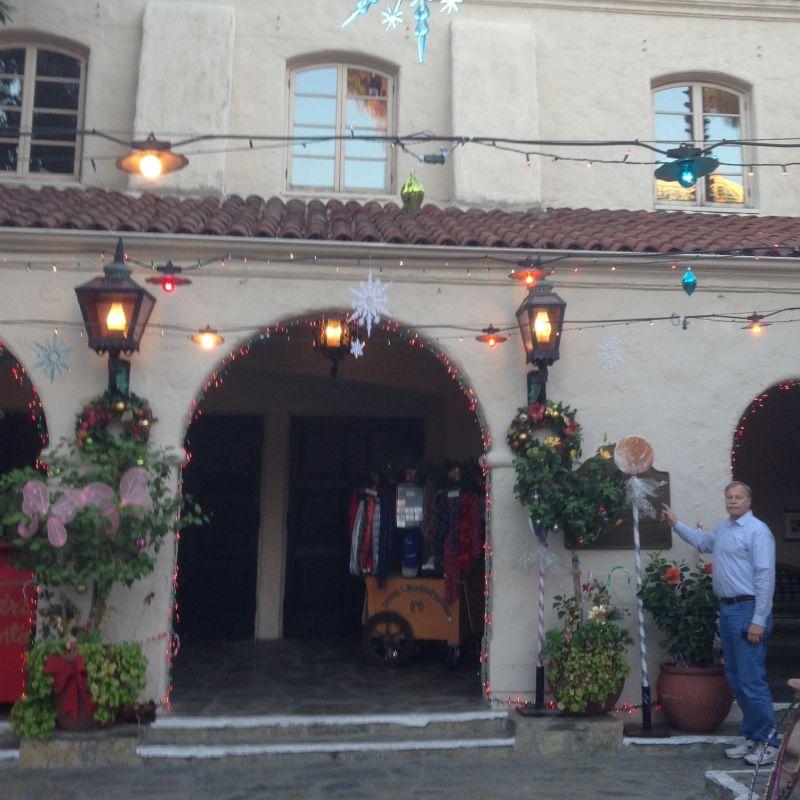 CHL #887 Pasadena Playhouse Courtyard