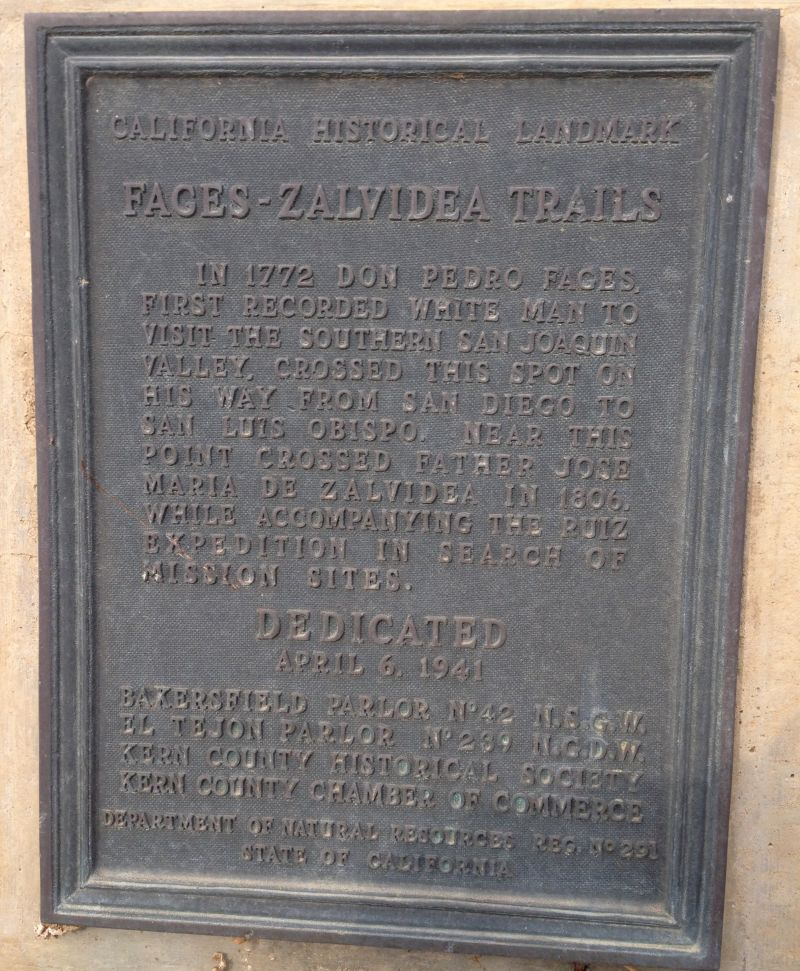 CHL #291 Fages-Zalvidea Crossing Private Plaque