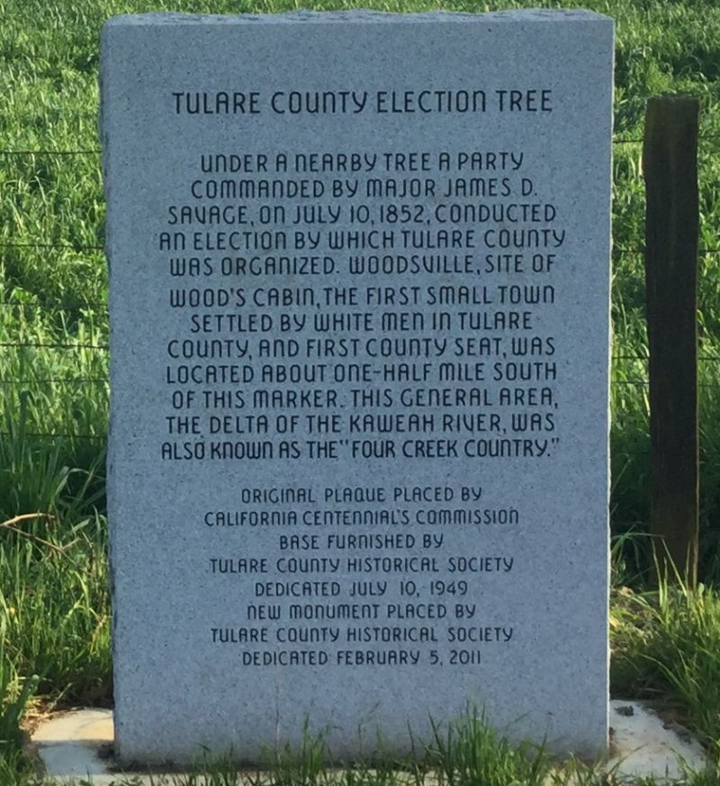 NO. 410 CHARTER OAK OR ELECTION TREE Private Marker