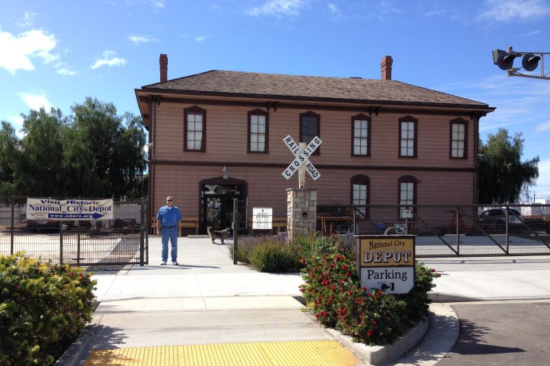 CHL #1023 - Transcontinental Railroad Depot