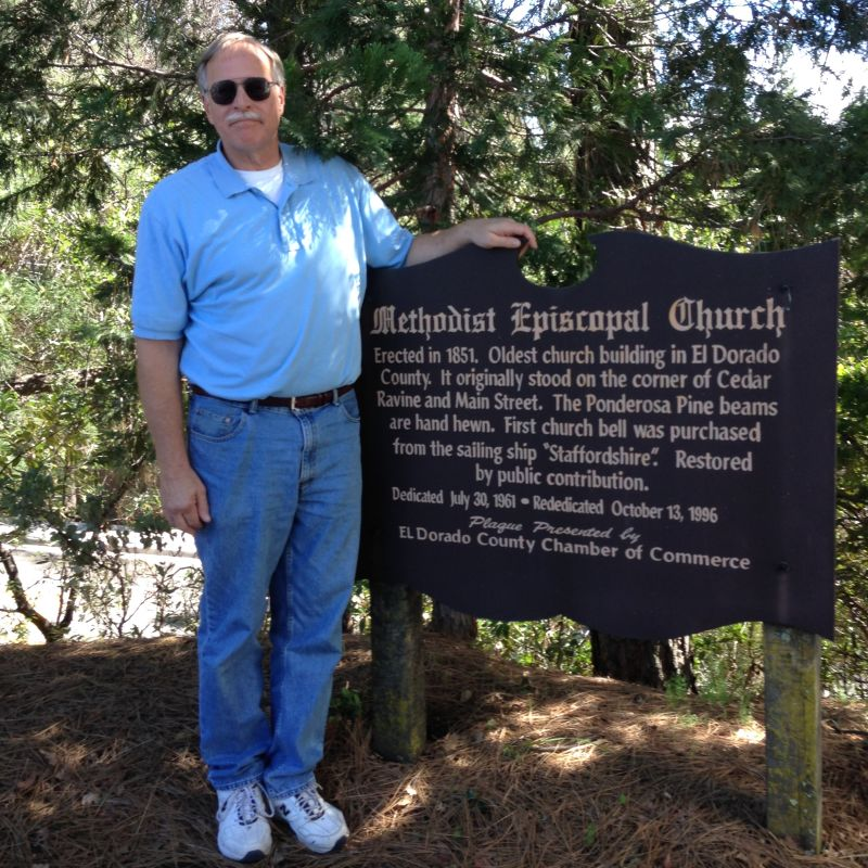 CHL No. 767  Methodist Episcopal Church Private Marker