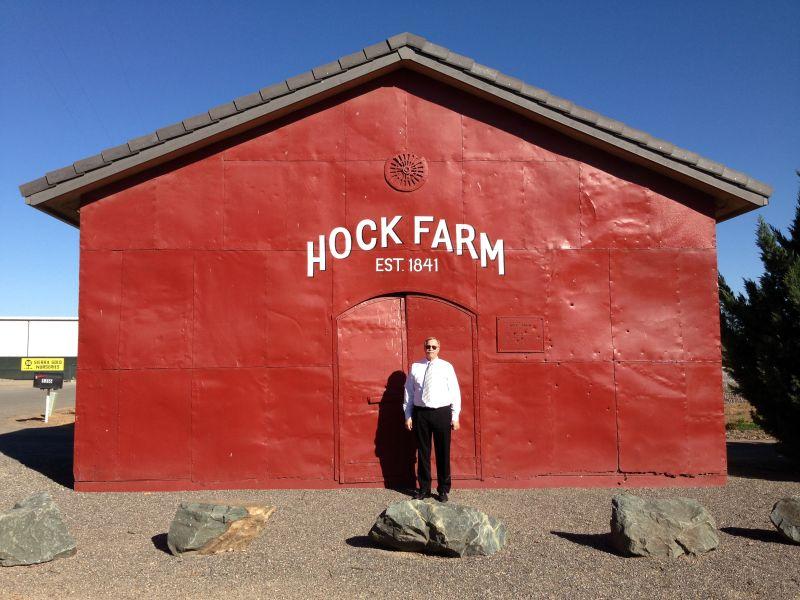 CHL No. 346  Site of Hock Farm