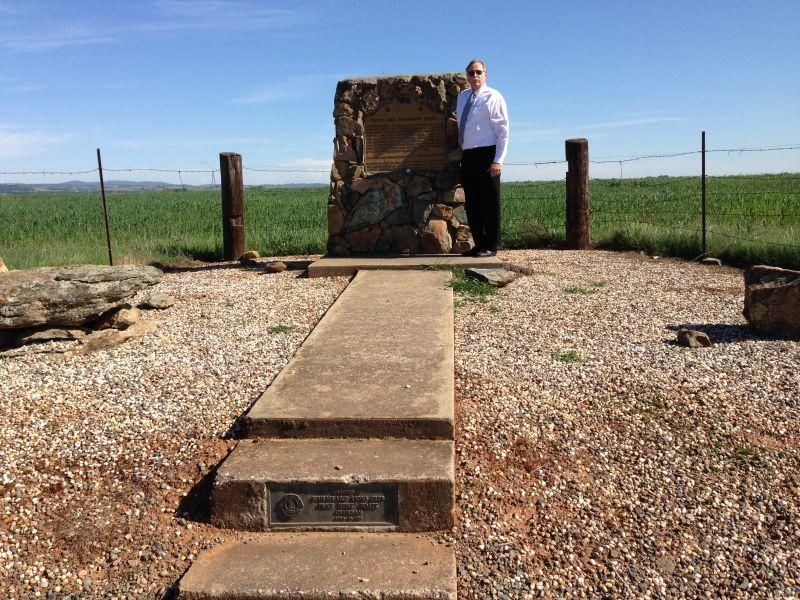 CHL No. 799.3 Overland Emigrant Trail - Yuba, Marker
