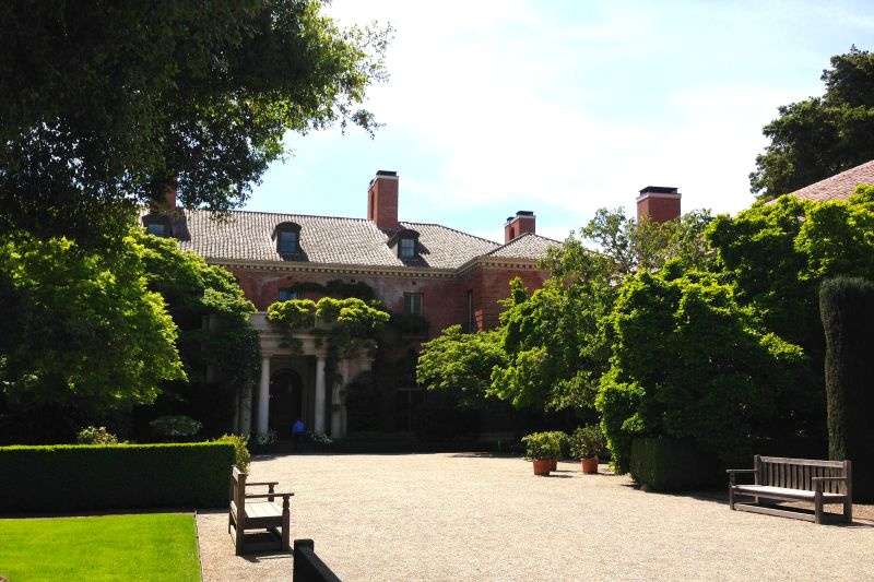 CHL No. 907  Filoli, Front of House