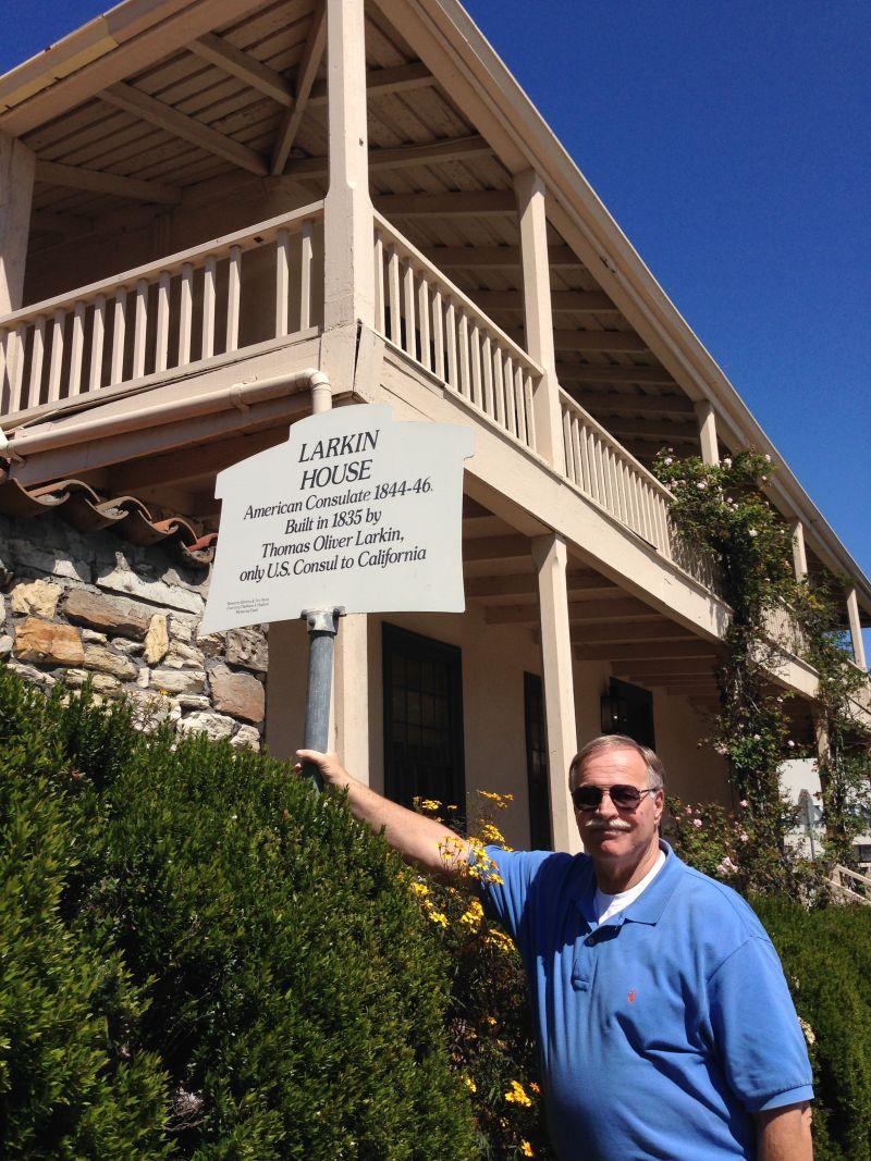 NO. 106 LARKIN HOUSE. Street Sign