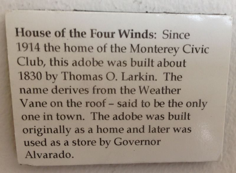 NO. 353 HOUSE OF FOUR WINDS