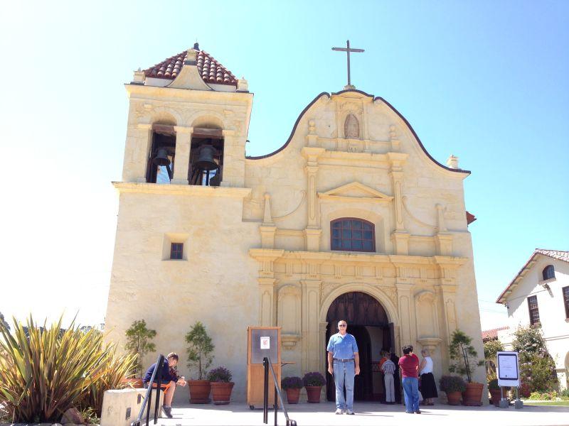 NO. 105 ROYAL PRESIDIO CHAPEL OF SAN CARLOS BORROMÉO