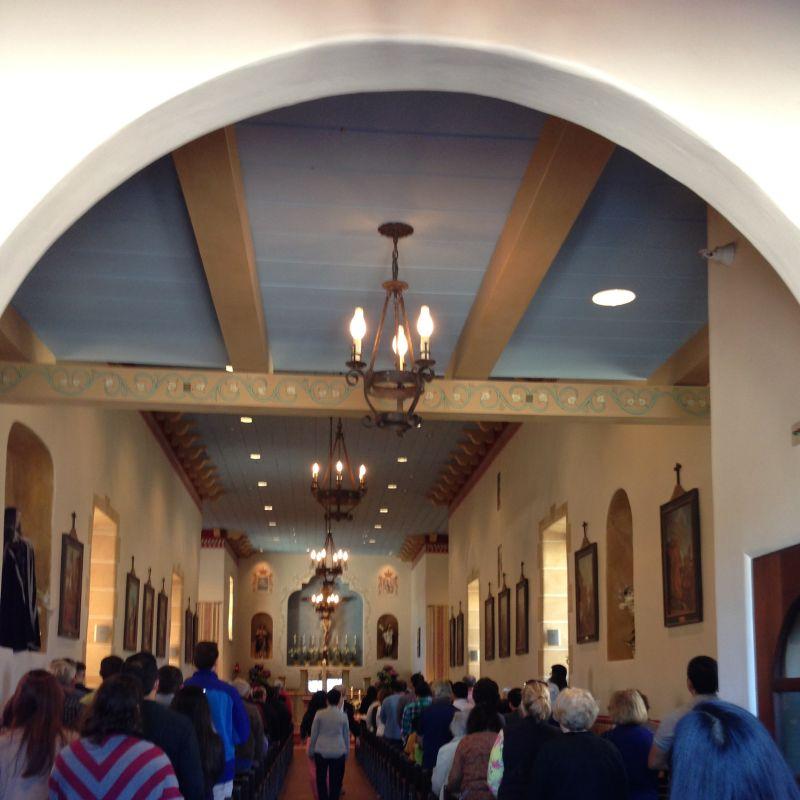 NO. 105 ROYAL PRESIDIO CHAPEL Church