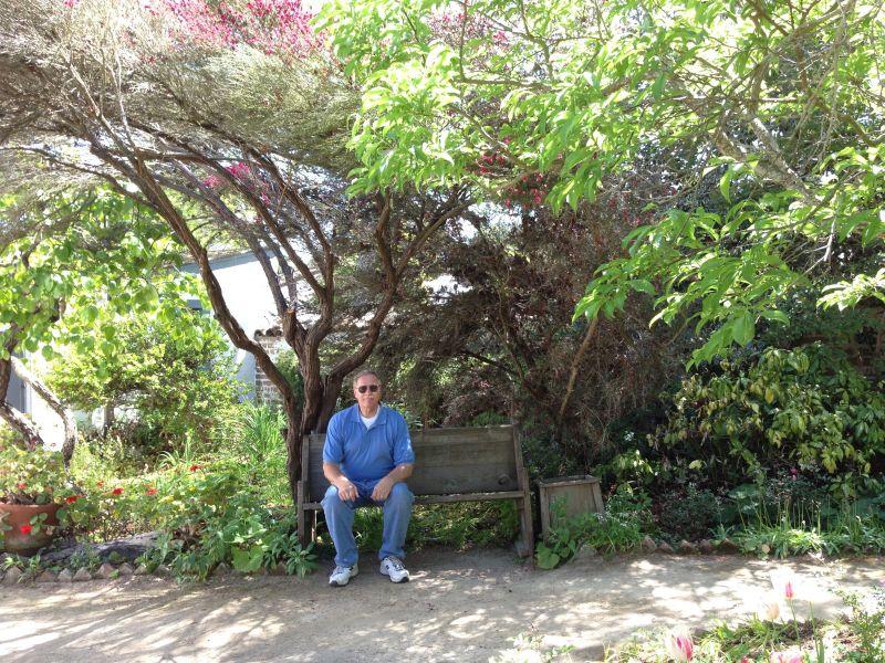 NO. 352 ROBERT LOUIS STEVENSON HOUSE, Garden