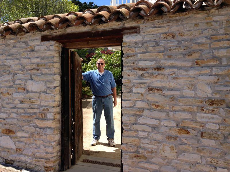 NO. 352 ROBERT LOUIS STEVENSON HOUSE, Garden Gate