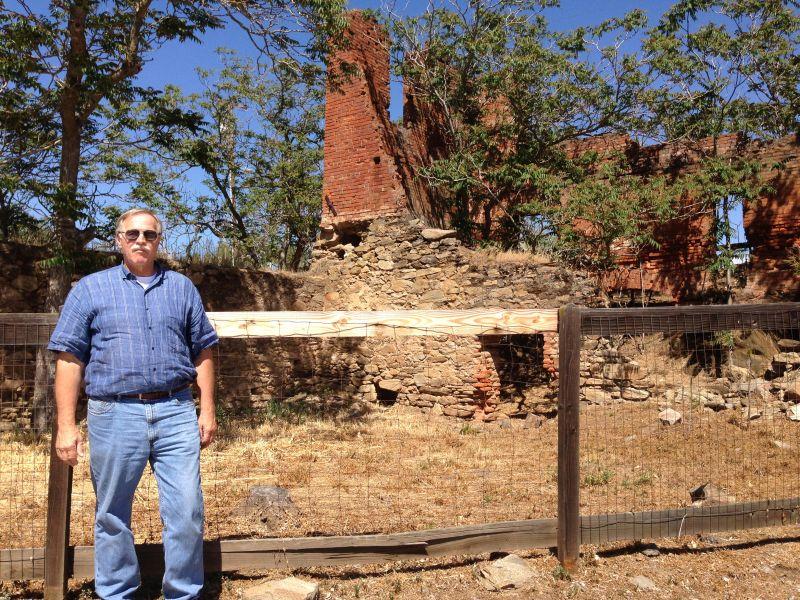 NO. 333 HORNITOS, The Ghirardelli & Co. Ruins