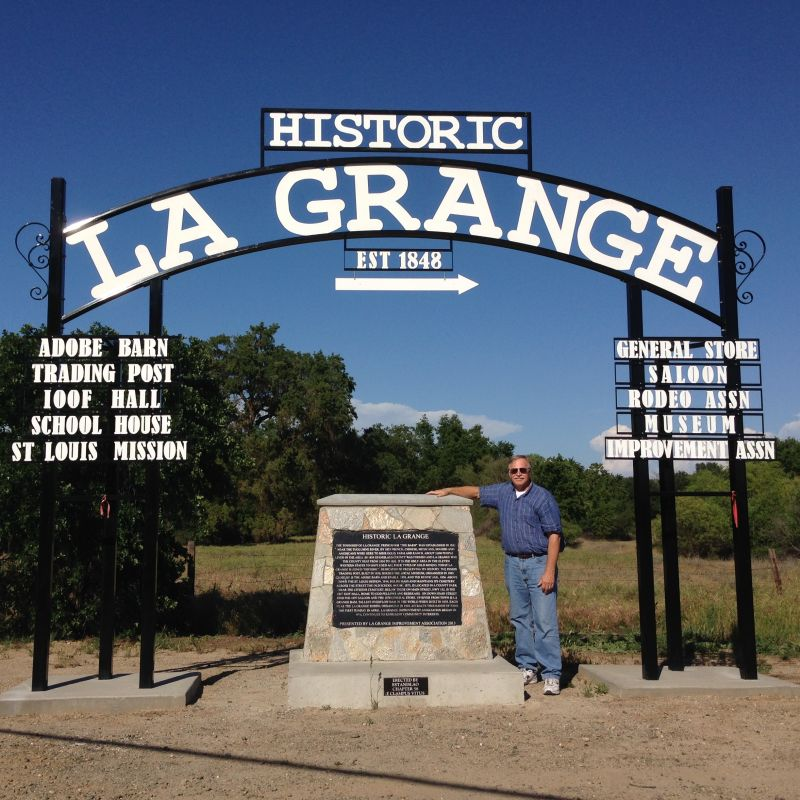 NO. 414 LA GRANGE, City Sign