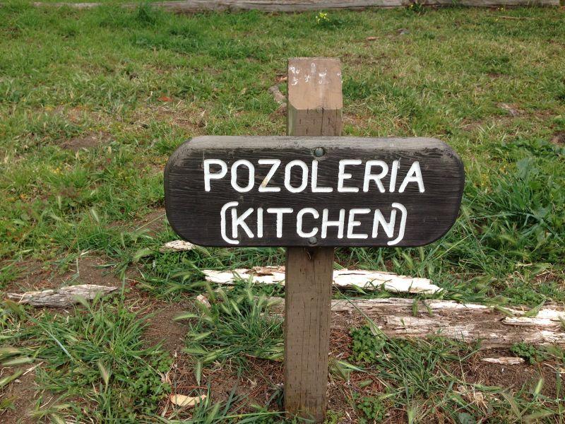 NO. 391 SANCHEZ ADOBE, Location of the Kitchen