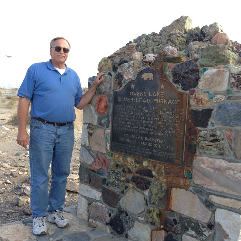 NO. 752.  FURNACE OF THE OWENS LAKE SILVER-LEAD COMPANY, Marker