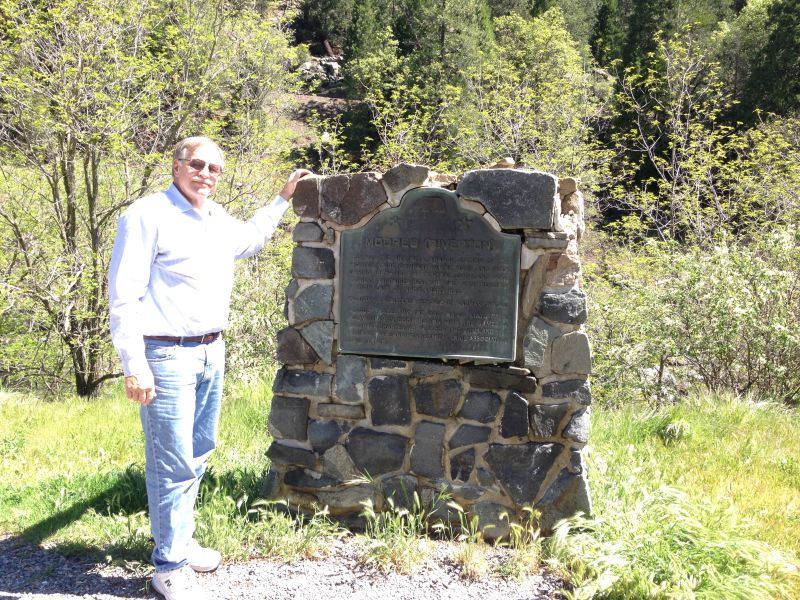NO. 705 MOORE'S (RIVERTON)-OVERLAND PONY EXPRESS, Marker