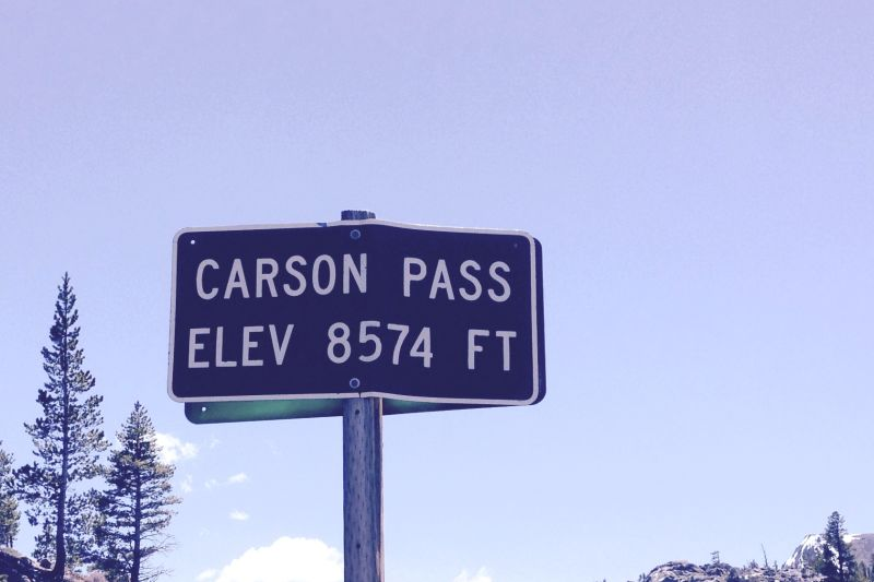 NO. 378 MEMORIAL TO PIONEER ODD FELLOWS, Carson Pass