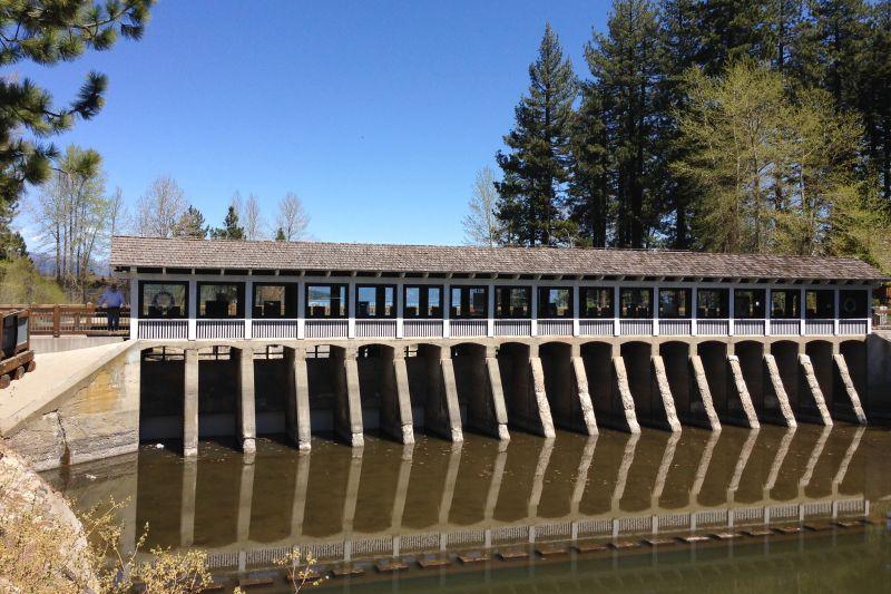 NO. 797 LAKE TAHOE OUTLET GATES
