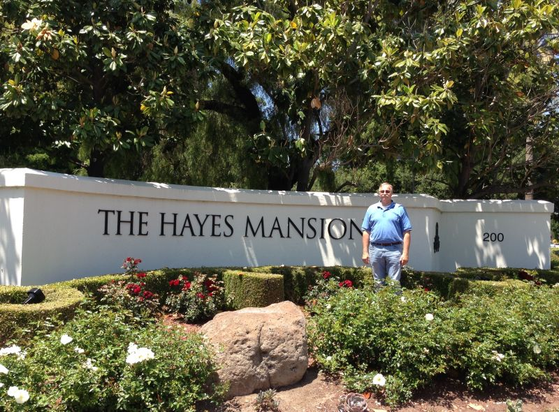 NO. 888 HAYES MANSION - Entrance
