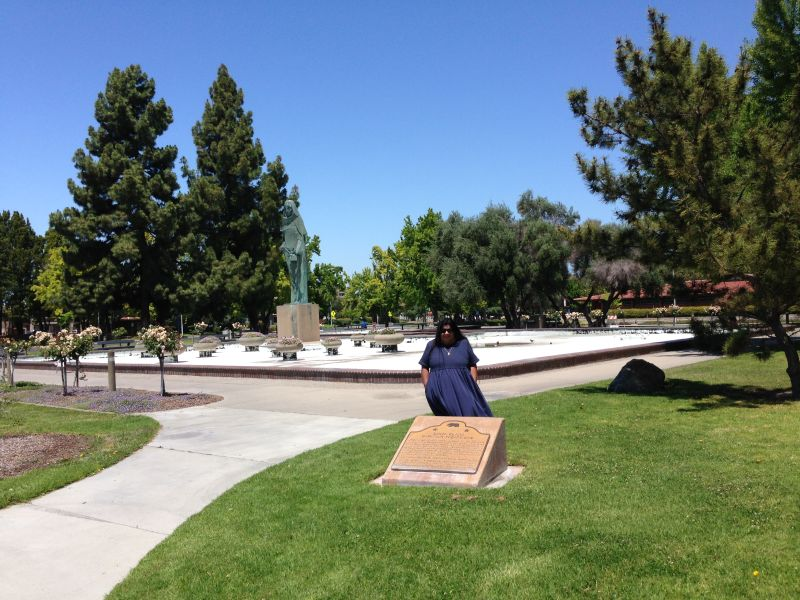 NO. 260 SANTA CLARA CAMPAIGN TREATY SITE - Second Marker in Civic Center Park