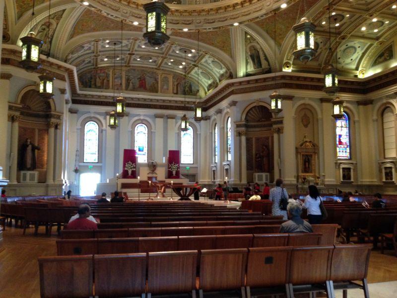 NO. 910  ST. JOSEPH'S CATHOLIC CHURCH - Interior