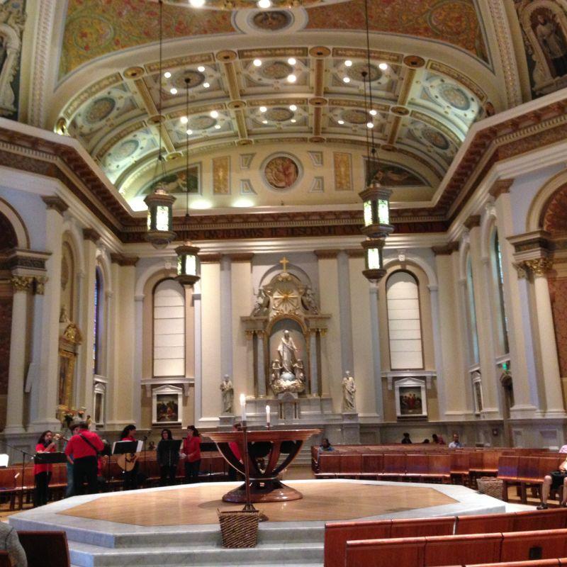 NO. 910  ST. JOSEPH'S CATHOLIC CHURCH - Altar