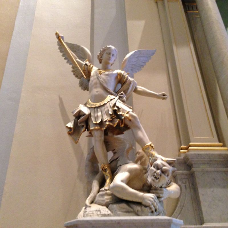 NO. 910  ST. JOSEPH'S CATHOLIC CHURCH -  St.Michael the Archangel