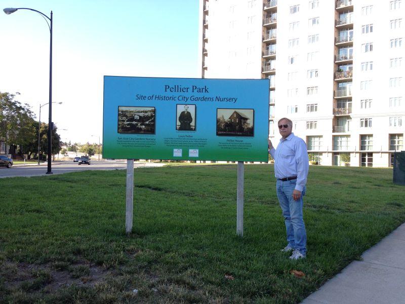 NO. 434 SITE OF CITY GARDENS - NURSERY OF LOUIS PELLIER