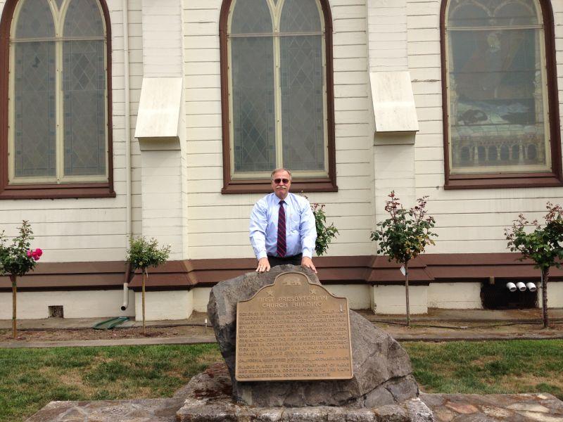 NO. 878 FIRST PRESBYTERIAN CHURCH BUILDING - Marker
