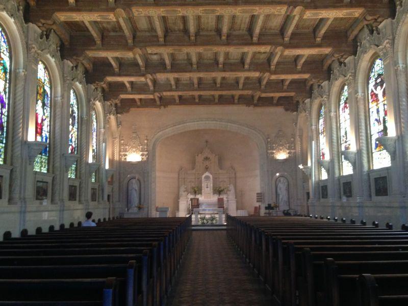 NO. 630 ST. VINCENT'S SCHOOL FOR BOYS - Chapel interior