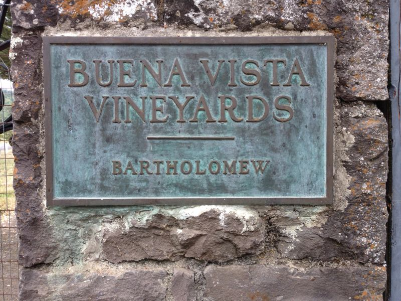Road side plaque