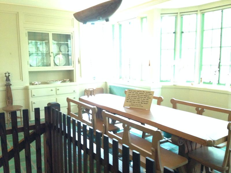 NO. 743 JACK LONDON STATE HISTORIC PARK - Dining Room
