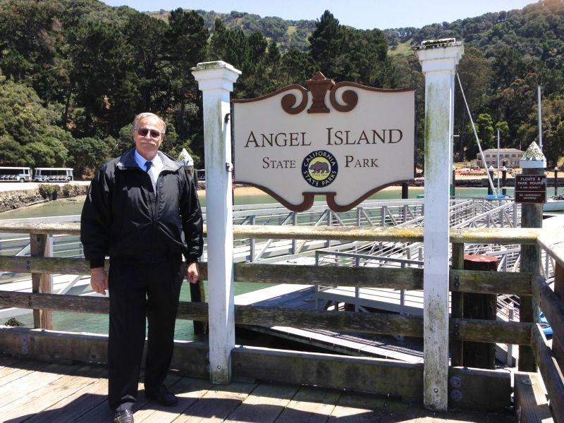 NO. 529 ANGEL ISLAND - State Sign